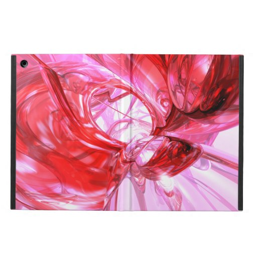 Cherry Splash Abstract iPad Air Cover