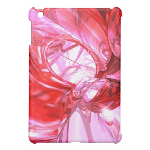 Cherry Splash Abstract Case For The iPad Mini