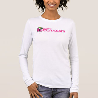 Cherry Swoozle Women's Long Sleeve T-Shirt