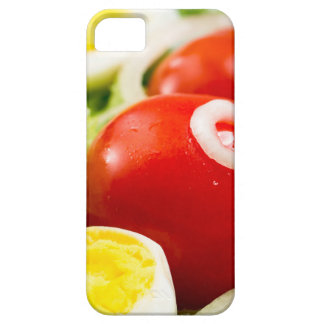 Cherry tomatoes and boiled eggs in a salad iPhone 5 covers