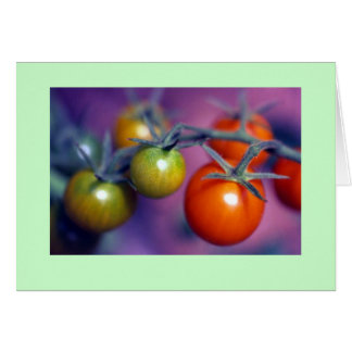 """""""Cherry Tomatoes"""" Card"""