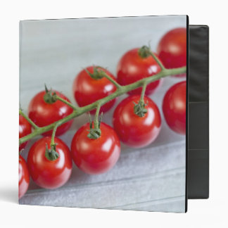 Cherry tomatoes on the vine For use in USA Vinyl Binder