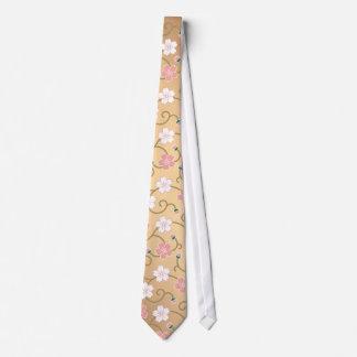 Cherry tree arabesque tie