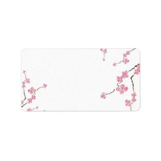 Cherry tree Avery Label