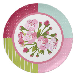 Cherry Tree Blossom Dinner Plates