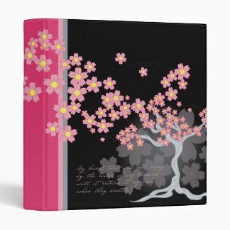 Cherry Tree Blossoms Binder