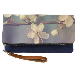 Cherry tree blossoms clutch