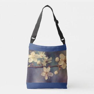 Cherry tree blossoms crossbody bag