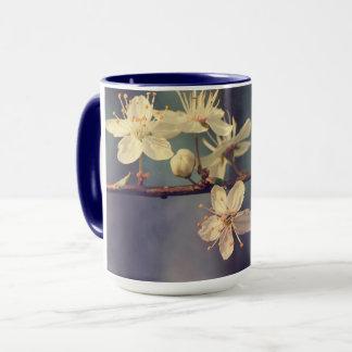 Cherry tree blossoms mug