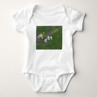 Cherry tree flowers baby bodysuit