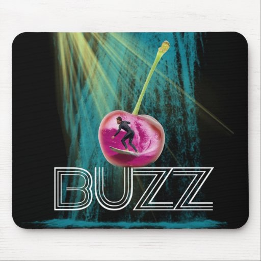 Cherry Waterfall Mouse Pad