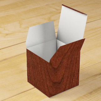 CHERRY WOOD CHERRYWOOD LOOK COLLECTION FAVOR BOX