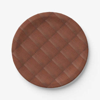 CHERRY WOOD CHERRYWOOD LOOK COLLECTION PAPER PLATE