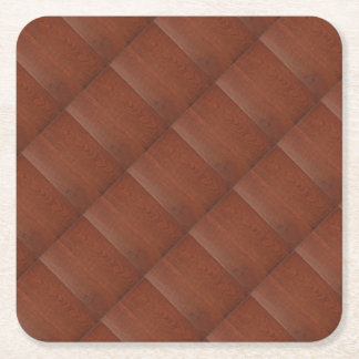 CHERRY WOOD CHERRYWOOD LOOK COLLECTION SQUARE PAPER COASTER
