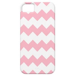 Cherryblossom Pink Modern Zig Zag iPhone 5 Case