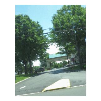 CherryHILL NewJersey USA Green Theme HAPPY WALK Letterhead Design