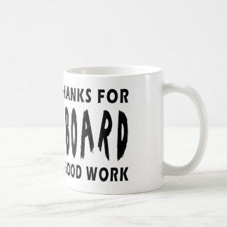 Chers mercis de Dieu de Shuffleboard Mug