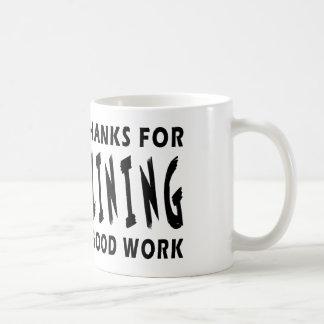 Chers mercis de Dieu de Trampolining Mug À Café