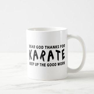 Chers mercis de Dieu du karaté Tasses