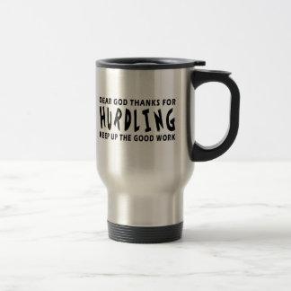 Chers mercis de Dieu du saut Mug