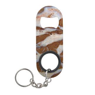Chert with Quartz Veins Keychain Bottle Opener