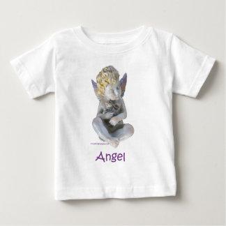 Cherub Angel and Bunny Baby T-Shirt