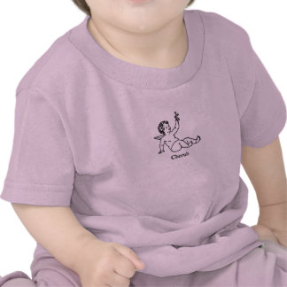 Cherub Angel with flower Shirts