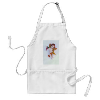 Cherub angel with grapes in hand aprons