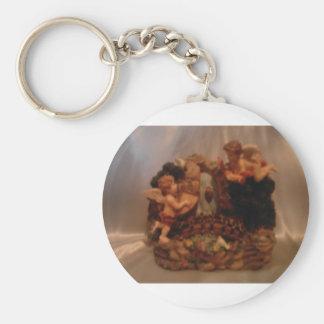 Cherub Angels Keychain