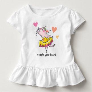 Cherub ballerina toddler t-shirt