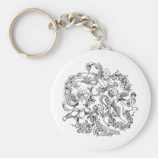 cherub-clip-art-12 basic round button keychain