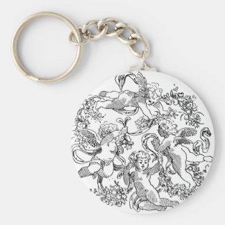 cherub-clip-art-12 keychain