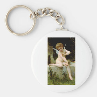 cherub-clip-art-13 basic round button keychain