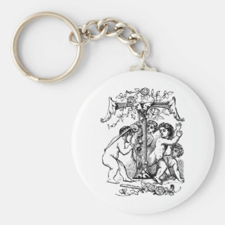 cherub-clip-art-7 key chains