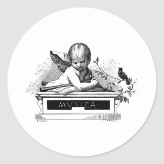 cherub-clip-art-8 sticker