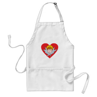Cherub heart heart aprons