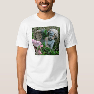 Cherub in the Grass Shirt