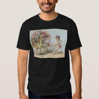 Cherub Mail Rose Candy Cart T-shirt