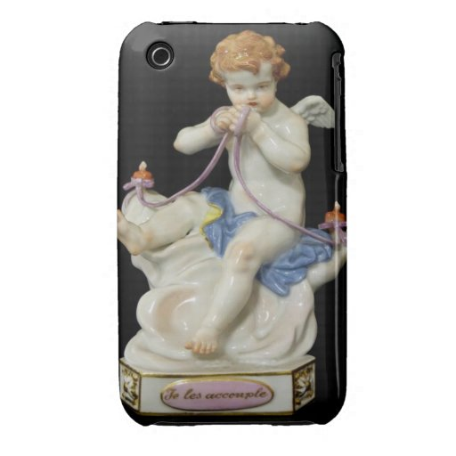 Cherub Two Hearts Blackberry Curve Case-Mate Case iPhone 3 Case