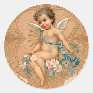 Cherub Valentines Day Stickers