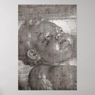 Cherubim Crying, 1521 Poster