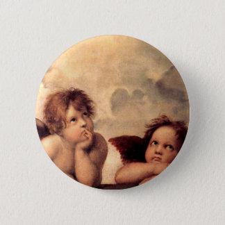 Cherubim - Raphael 2 Inch Round Button