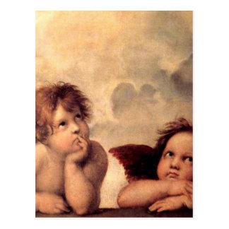 Cherubim - Raphael Postcard