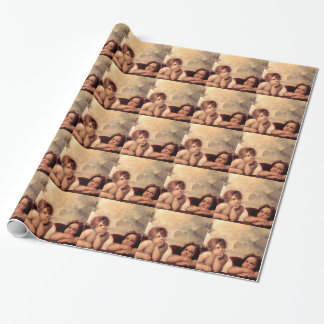 Cherubim - Raphael Wrapping Paper