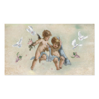 Cherubs and Doves Business Cards