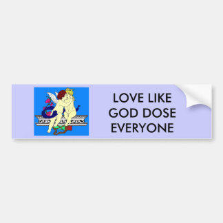 cherubs angels bumper sticker