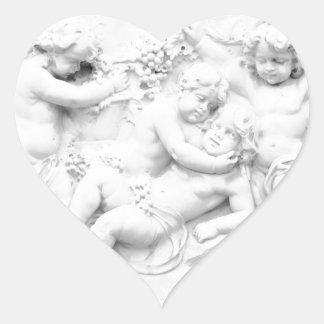 Cherubs Heart Sticker