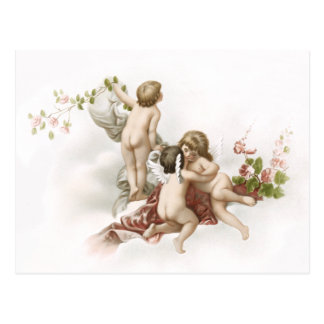 Cherubs in Space Postcard
