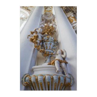 Cherubs In The Wieskirche Church Acrylic Print