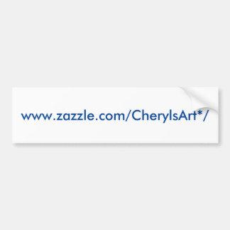 CherylsArt bumper sticker